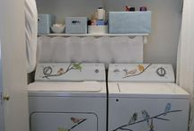 Laundry room / by Kathy Robinson Vollmer