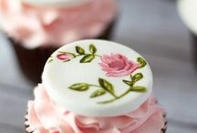yagli boya cup cake