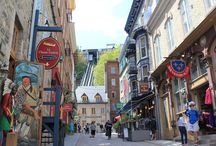 Traveling Canada / Destinations all across Canada from Banff, to Niagara Falls and Quebec City.