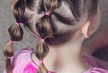 Frisuren für kleine Mädchen