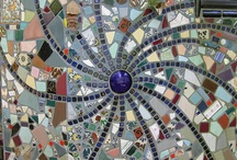Mosaics in the bathroom
