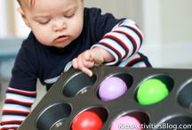 Baby Goodies / Simple to set up, fun to play baby games and supplies. / by Malia // Playdough to Plato