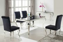 Louis dining range / Range of furniture tables chairs etc Louis, Rocco style