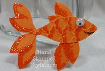 Craft: Cards-Fish