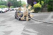 voiture balai mariage