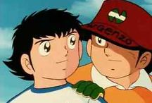Cartoons of my heart / Cartoons are very important when a person is a child. When I was a child, I wached on TV Holly and Benji and Ken the Warrior. #cartoon #captaintsubasa #hollyebenji #kenshiro #kenilguerriero