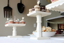 cake stands / by Katie Taylor