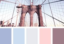 Colour Palette / Beautiful color combinations found in nature or everyday vignettes.