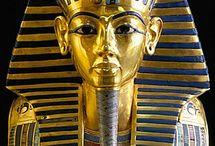 Gold mask of Tutankhamun, Egypt