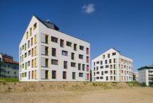 NOWA Nowa Huta / Budynki mieszkalne w Nowej Hucie, autorstwa Pracowni ARCHITEKT.LEMANSKI. Housing in Cracow, Nowa Huta.