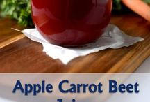 Apple beet carrot juice