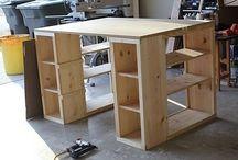 Craft room ideas / by Amy Hawkins