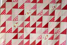 Quilting - trekanter