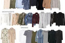 Chic Street Style Capsule Closet