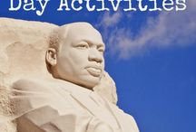 Martin Luther King Jr. Day / Activities for honoring Dr. King