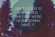 Words / by Annie Hallis