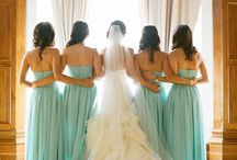 Brides and her Bridesmaids
