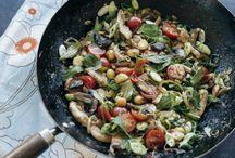 Mid week dinner ideas (with macadamia nuts)