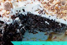 Ooey Gooey cakes / by Sherry Cook Jones