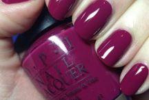 nail polish, gal and acrylics