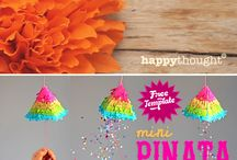 (2015) Fiesta Decorations / Get creative with these cute Fiesta decoration ideas