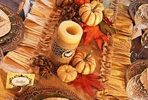 """Thanksgiving / """"Gratitude is the inward feeling of kindness received. Thankfulness is the natural impulse to express that feeling. Thanksgiving is the following of that impulse.""""  ~Henry Van Dyke"""