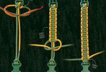 sznurki węzły