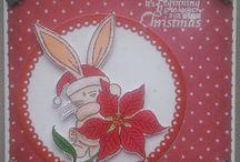 Bebunni christmas cards
