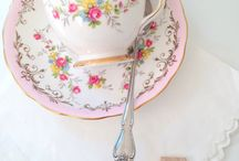 Teacups, Teapots and Vintage China