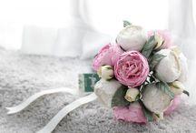 Light Pink Blush Alternative Bridal Bouquet Idea