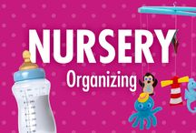 Nursery Organizing / Nursery organizing ideas, tips, and videos from home organizational expert Alejandra Costello / by Alejandra Costello | Home Organizing Tips, Ideas, Videos, & Best Products