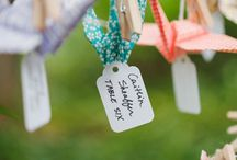Origami paper cranes wedding seating plans / For more ideas see our blog http://www.toptableplanner.com/blog/a-thousand-years-of-happiness-a-paper-folding-wedding-table-plan