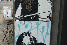 Street Art Falfirkák
