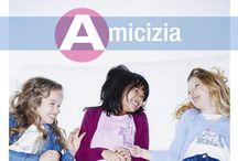 Alfabeto dei bambini / A come Amicizia, B come Batticuore, C come complicità... iDO presenta l'alfabeto dei bambini! / by iDO Abbigliamento Bambini