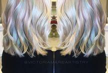 Frisuren Farbspiel