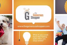 Shop for Donation / The Generous Shopper helps to donate money for charity. We work with different shopping partners; you can shop for donation with your favourite shopping online stores. You donate a little bit of amount to our charities like Assist a Sista, Destiny Rescue, Care Vinnies etc.