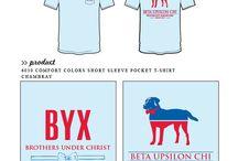 Beta Upsilon Chi / Beta Upsilon Chi custom shirt designs #betaupsilonchi #byx  For more information on screen printing or to get a proof for your next shirt order, visit www.jcgapparel.com