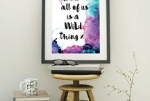 ETSY / We are now selling on ETSY!  Our full range of Wall Art Prints to Motivate | Inspire | Empower.