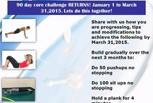 How about a 90 day core challenge?