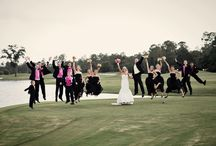 Wedding Portraits / Wedding pictures on the grounds of St. Johns Golf and Country Club