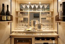 Built-in bar - Upstairs
