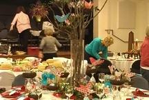 United Methodists women holiday table extravaganza / by Sue Ellen Bennett
