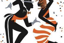 Танцевальные постеры