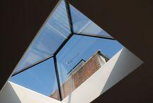 Aluminium contemporary rooflights