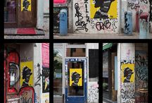"""Urban Poster Mock-up VOL.6 / EACH SMART OBJECT IS EDITABLE WITH ISO """"A"""" PAPER SIZES"""