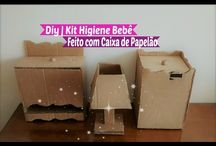 vídeo kit BB papelao