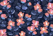 flower print