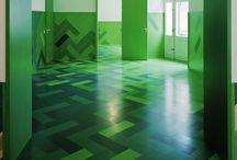 Interiors. Floor