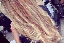 Teenage hair
