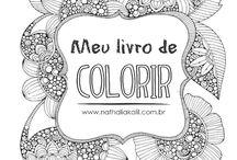 Para colorir - Adultos
